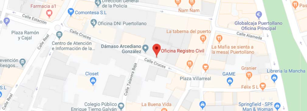 situacion del registro civil de puertollano